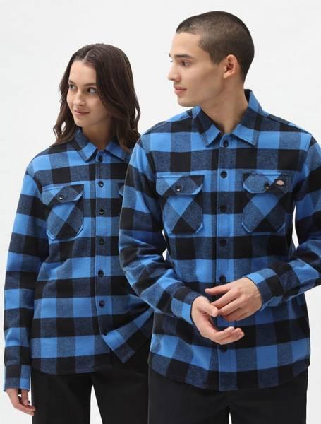 Dickies - Sacramento Skjorte - Blå