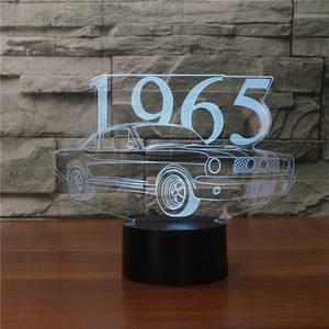 Bilde av Ford Mustang 1965 - Led Lampe