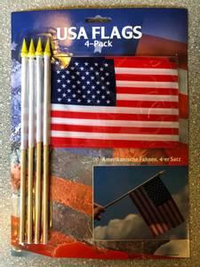 Bilde av Amerikanske flagg - 4-pack