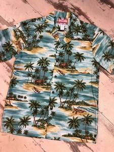 Bilde av Hawaiiskjorte - Palmer - Sage