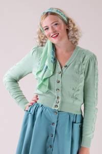 Bilde av Emmy - The Susie Q Cardigan - Eau de Nil