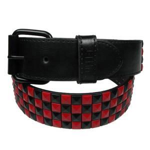 Bilde av Belte - 4 Rader sjakkrutet rød/sort