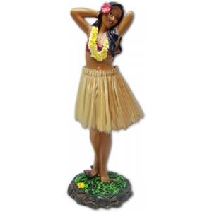 Bilde av Hula Girl Posing Natural Skirt