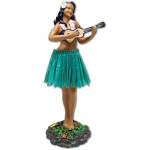 Bilde av Hula Girl Ukulele Green Skirt
