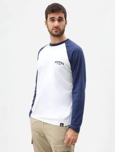 Bilde av Dickies - Baseball T-skjorte, Lang erm, navy
