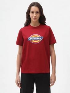 Bilde av Dickies - DAME - Icon Logo T-skjorte - Biking Red