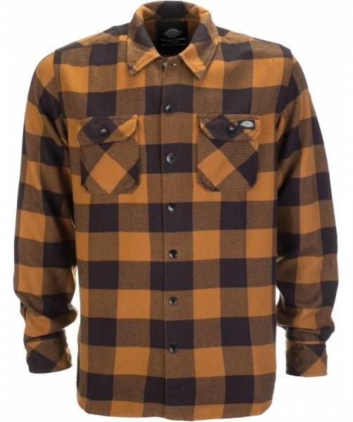 Dickies - Sacramento Skjorte, Brown Duck
