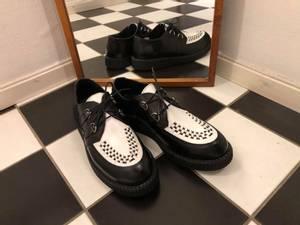 Bilde av Creeper Shoe - Harley - Black/White