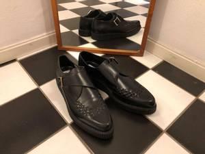 Bilde av Creeper Shoe Meteor - sort/sort - Sko