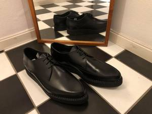 Bilde av Creeper Shoe - Plain Black - Sko
