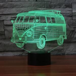 Bilde av Folkevogn Buss - Led Lampe
