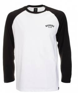 Bilde av Dickies - Baseball T-shirt, Hvit/ Svart