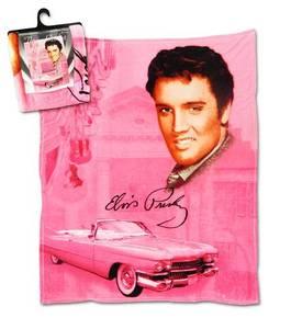 Bilde av Elvis Fleecepledd Pink