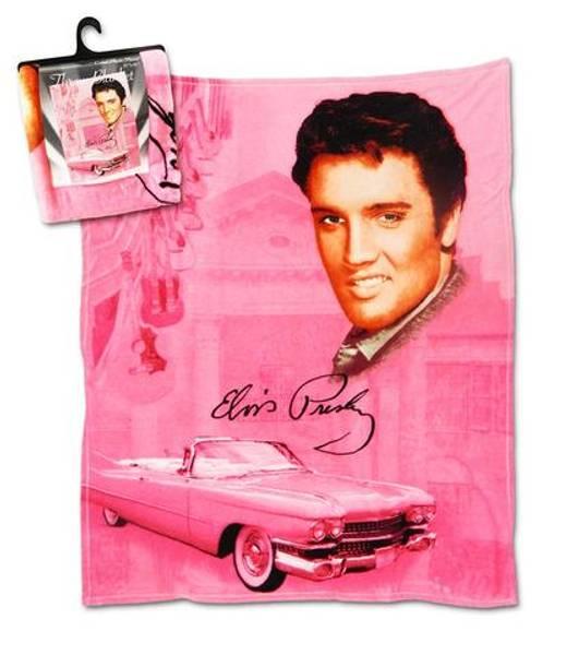 Elvis Fleecepledd Pink