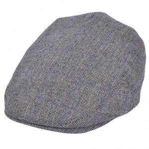 Bilde av G&H Grey Tweed G&H Flat Cap - Grå/Blå