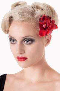 Bilde av Blossom Hairclip - Rød