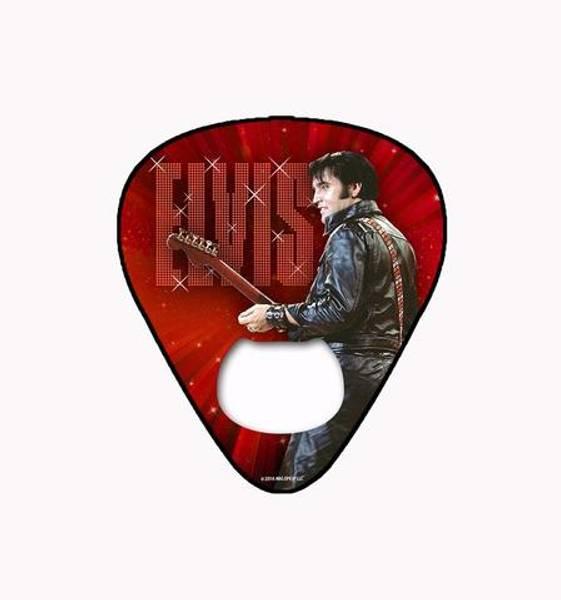 Elvis - Flaskeåpner Plekter Rød