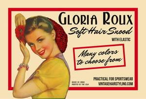 Bilde av Gloria Roux Soft Hair Snood
