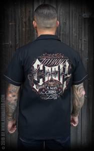 Bilde av Rumble59 - Johnny Cash Skjorte