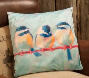Bilde av 3 fugler pute med fyll (45x45cm)