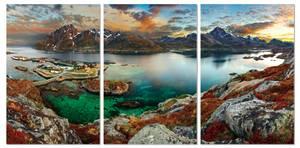 Bilde av Beautiful Lofoten (sett av 3 stk. 80x120 bilder Plexiglass)