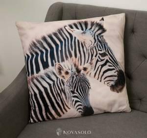 Bilde av Zebra and kid pute m/fyll (45x45 cm)