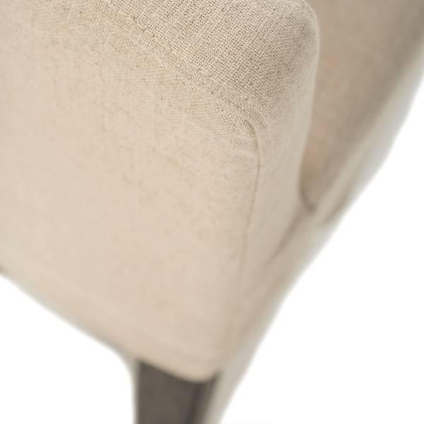 Noma spisestol med armlene (Natur lin)