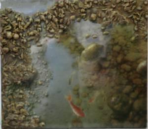 Bilde av Fish in the water (70x80)