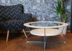 Bilde av Cleo rundt glass sofabord