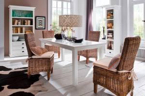 Bilde av Halifax spisebord (Hvit - 200x100)