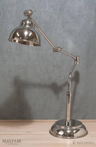 Mayfair bordlampe i rustfri stål (71 cm)