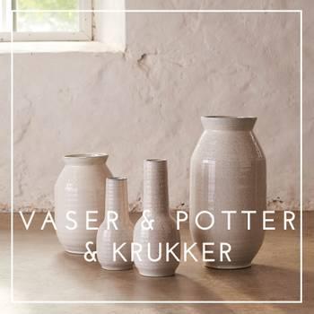Bilde av VASER, POTTER OG KRUKKER