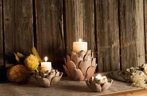 Bilde av Angelica telysestake (stor - soft lilla)