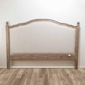 Bilde av Hamilton sengegavl i eik / lin (169 cm)