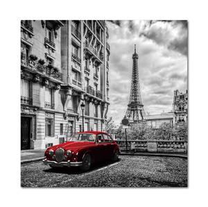 Bilde av Car in Paris (120x120 bilde Plexiglass)