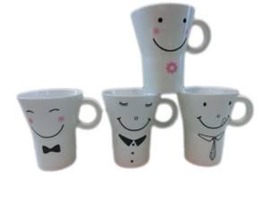 Bilde av Smile krus - sett av 4 - Se prisen!