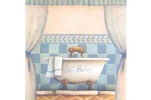 Bilde av Bath Blue 36X36