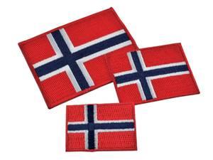 Bilde av Norsk Flagg - Strykemerke
