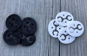 Bilde av Bakstykke til knapper