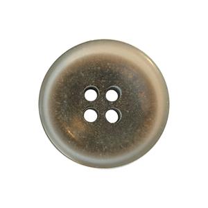 Bilde av Gjennomsiktig knapp med gråbrun kjerne