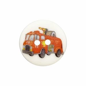 Bilde av Barneknapp brannbil