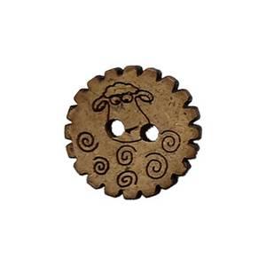 Bilde av Kokosknapp med sau