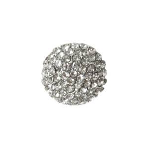 Bilde av Knapp med Diamanter/Bling 17mm