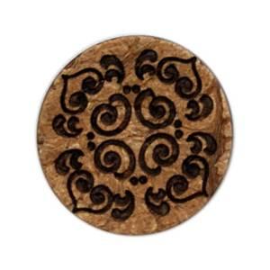 Bilde av Kokosknapp med mønster