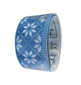 Bilde av Selbu 2 Blå Refleks armbånd