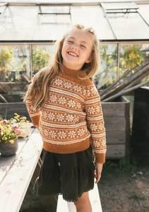 Bilde av Lillemor genser barn - Garnpakke