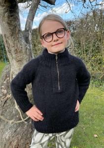 Bilde av Zipper Sweater junior - Garnpakke