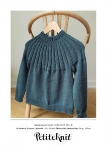 Bilde av Haralds Sweater Junior - Garnpakke