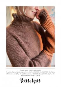 Bilde av PetiteKnit Terrazzo Sweater - Garnpakke