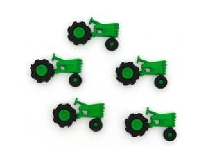 Bilde av Knappemix Grønn Traktor